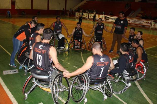 Equipe de Joinville venceu as duas partidas que disputou contra Florianópolis na fase anterior. Foto: Adriana Laffin / Apoio Comunicação