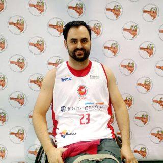 Edson Laurindo - Atleta da APEDEB