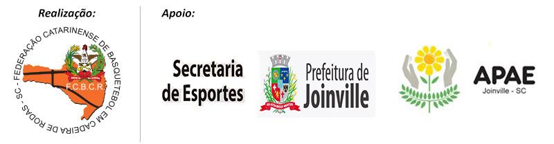 Realização: FCBCR / Apoio: Prefeitura de Joinville e APAE