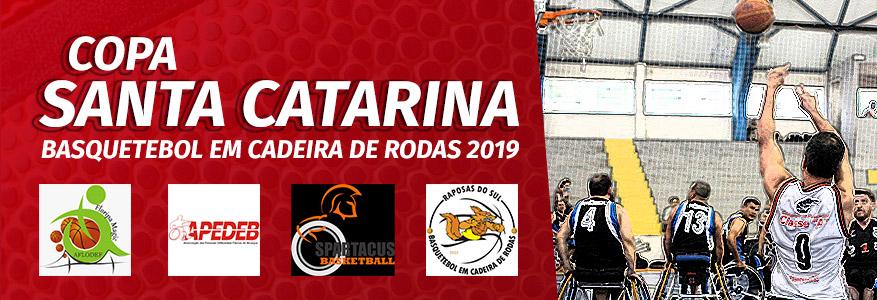 Copa Santa Catarina 2019 de Basquetebol em Cadeira de Rodas